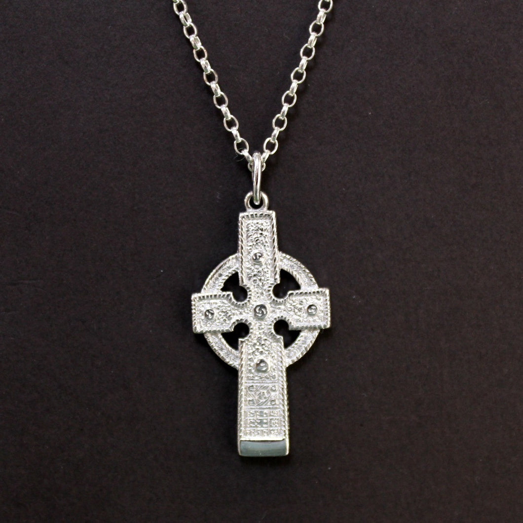 Sterling Silver Cross - Ahenny