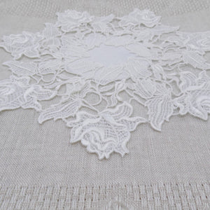 Rose Doily or Table Centre