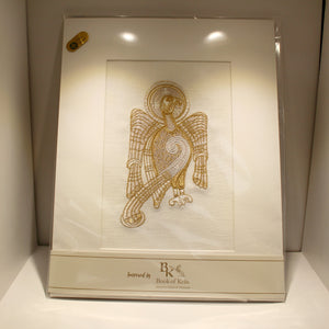 Book of Kells Embroidered Picture - John (The Eagle)