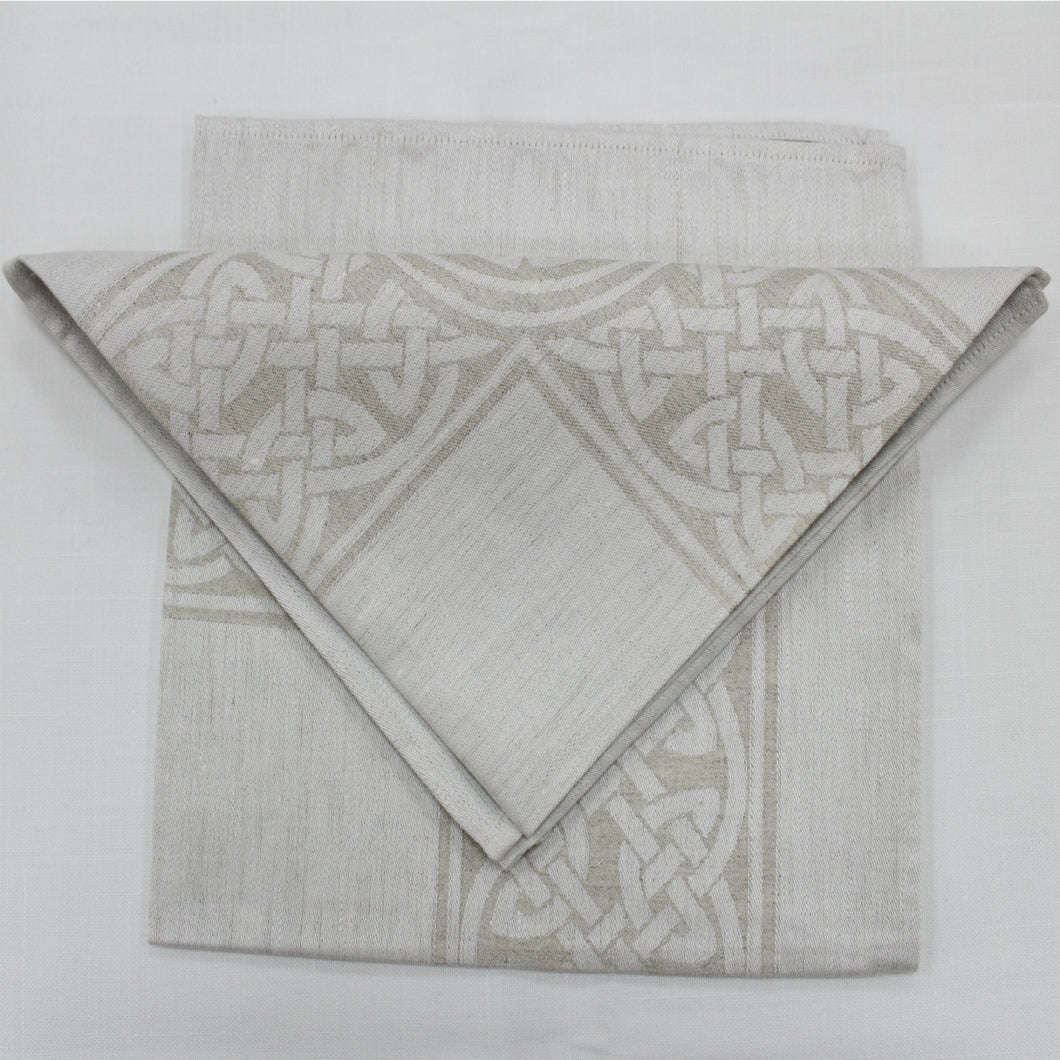 Colmcille Damask Napkins- Natural