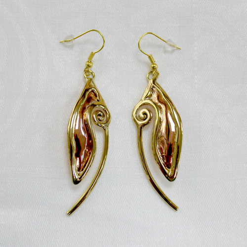Grange Celtic Spiral Drop Earrings