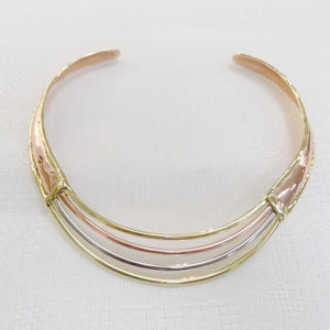 Grange Copper Layers Necklace