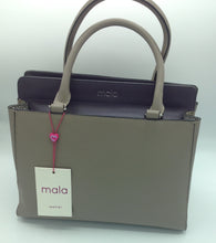 Load image into Gallery viewer, Mala Leather 2 Tone Large Bag