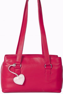 Mala Leather Shoulder Bag