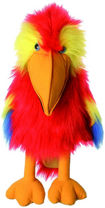 Hand Puppet Scarlet Macaw