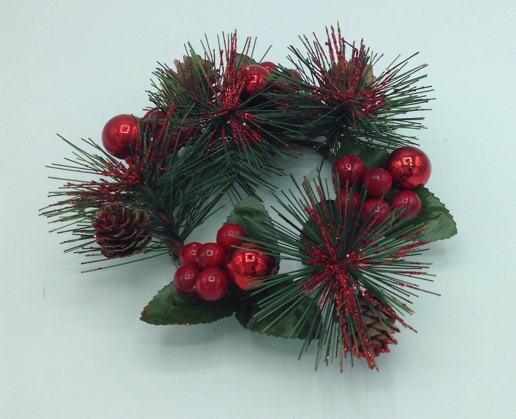 Mini Wreath (mixed foliage)