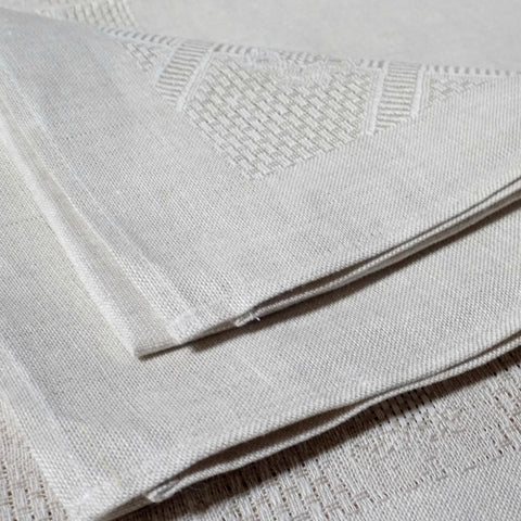 Etamine Irish Linen Napkin- Natural