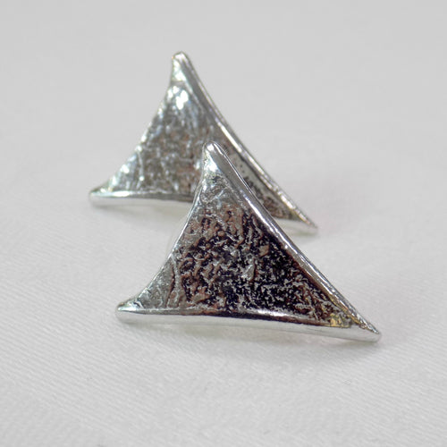 Reaction Triangular Earrings