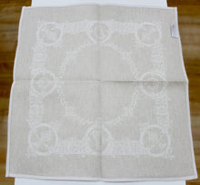 "Load image into Gallery viewer, Damask Irish Linen Napkin - ""Celtic"", Natural."