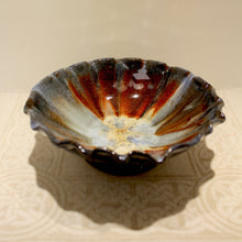 Load image into Gallery viewer, Rossa Pottery Bowl (Fluted edge)