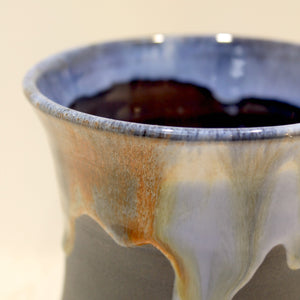 detail of a mug from Rossa Pottery, made in Ireland.