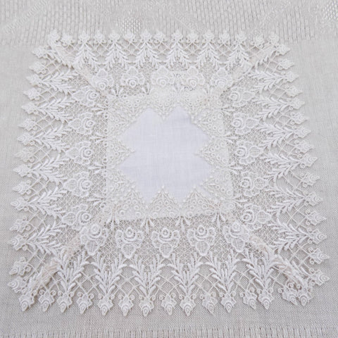 square lace table centre or doily