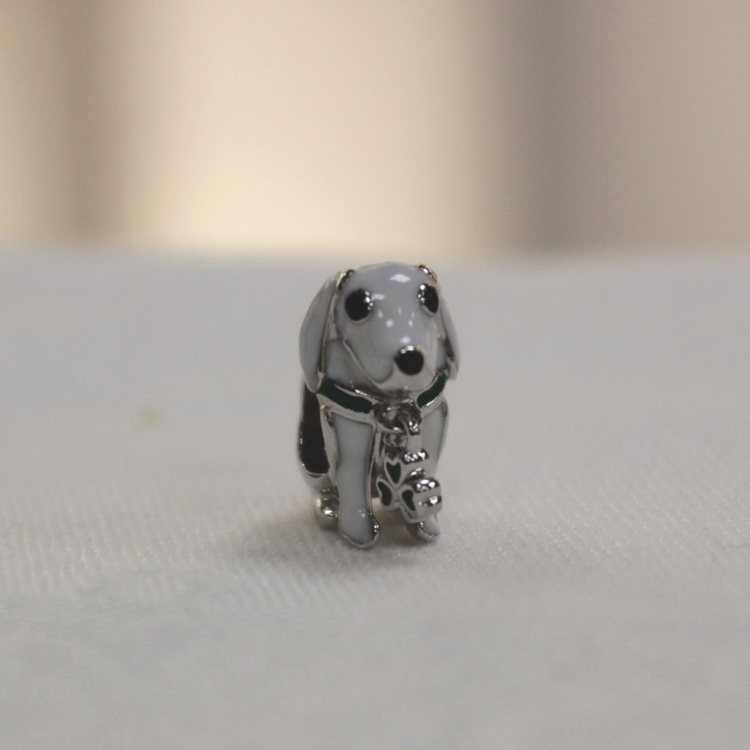 Irish Dog Bead Charm