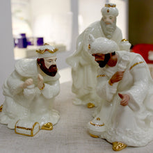 Load image into Gallery viewer, Three Kings Belleek Nativity set
