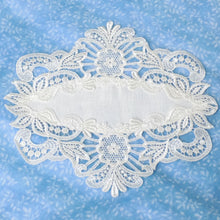 "Load image into Gallery viewer, Lace ""Meadow Daisy"" Mat/Doily"