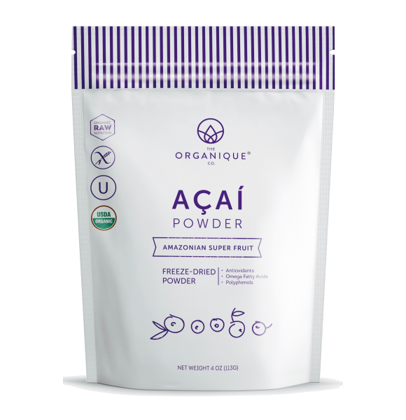 Acai Berry Powder Superfood Supplement sold by The Organique Co.