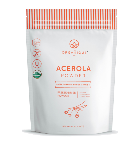 Acerola Powder Vitamin C-rich Superfruit sold by The Organique Co.
