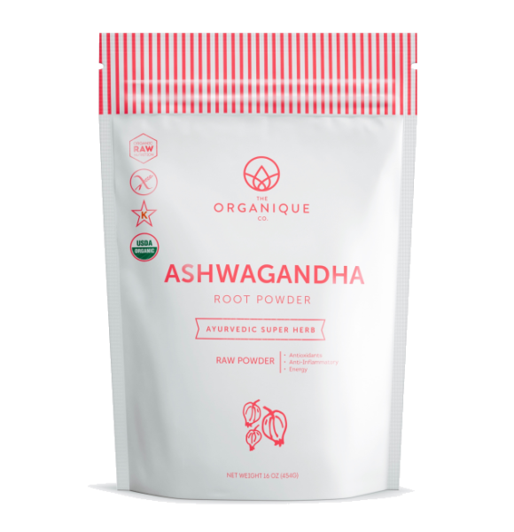 Ashwagandha Powder Superfood by The Organique Co