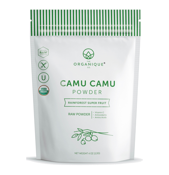 Camu Camu Powder Vitamin C-rich Superfood sold by The Organique Co.