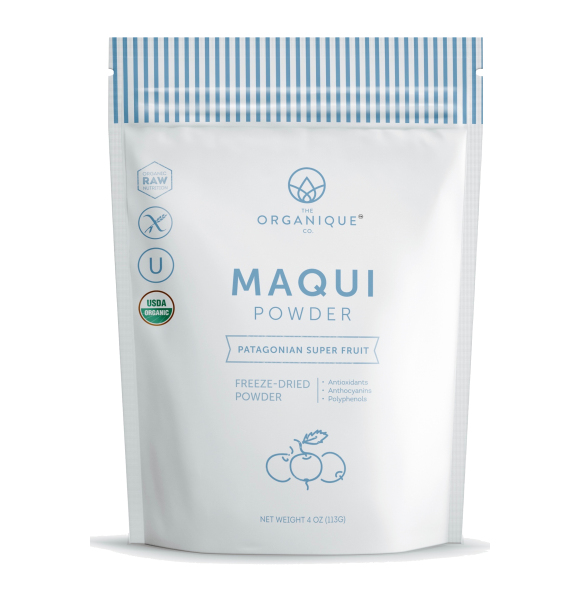 Maqui Berry Powder Antioxidant Superfood sold by The Organique Co.