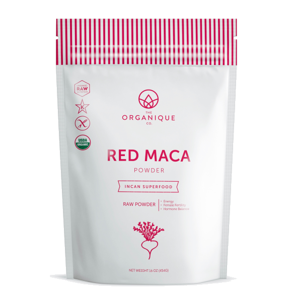 Red Maca Powder Superfood by the Organique Co