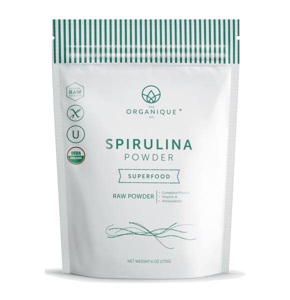 Organic Spirulina Powder Superfood sold by The Organique Co.