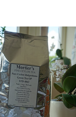 1KG  GREEN TEA LOOSE LEAF -'ABOVE AND BEYOND DELICIOUS'