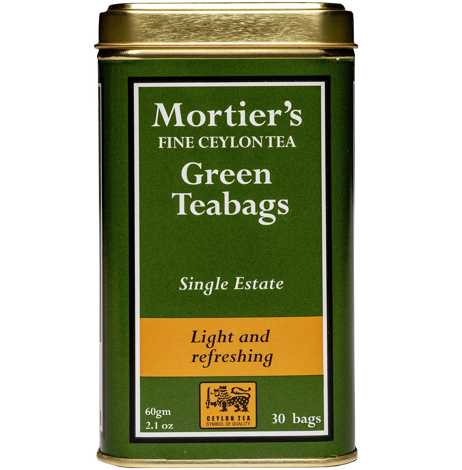 TEA BAGS IN A CADDY - GREEN TEA (30)