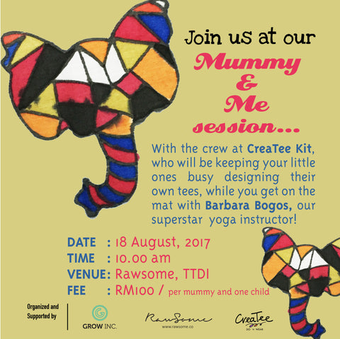 Mummy and Me Session at Rawsome, TTDI