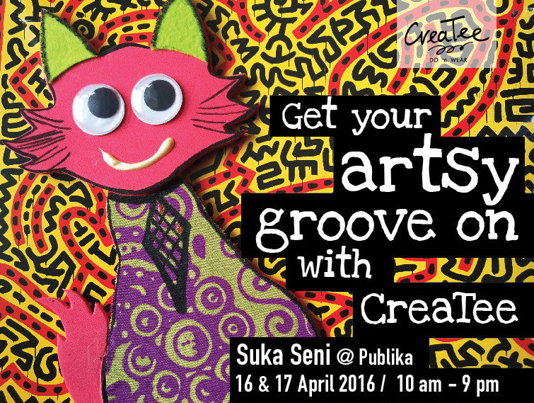 We will be at Suka Seni@Publika