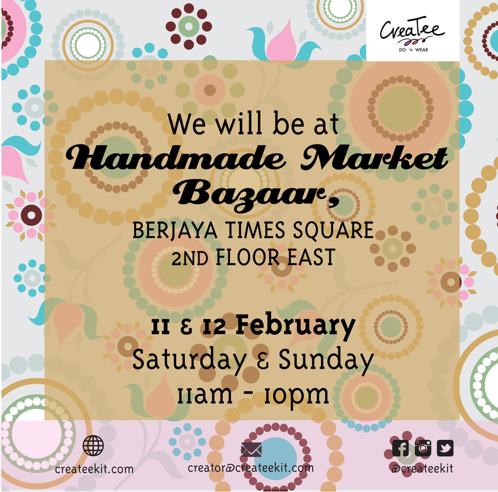 Our first bazaar for 2017