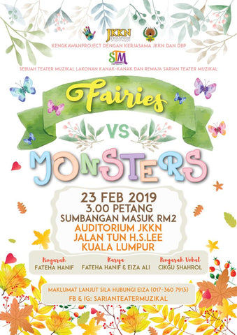 Fairies Vs Monster Musical Theatre