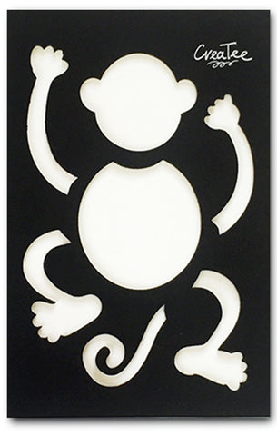 Cici the Monkey (Stencil)