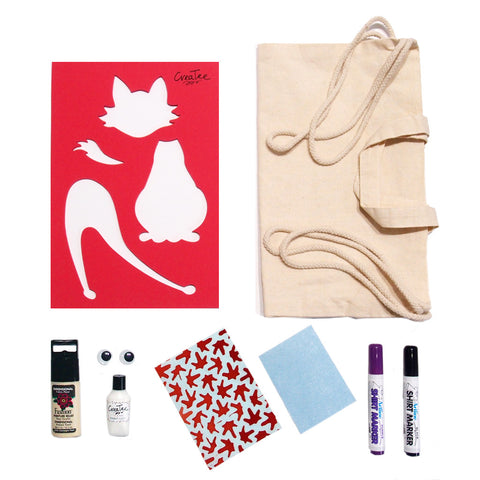 Cobie the Cat Canvas Bag