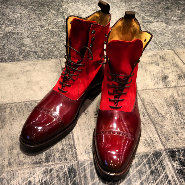 CS7820G - Goodyear - Veau velours rouge