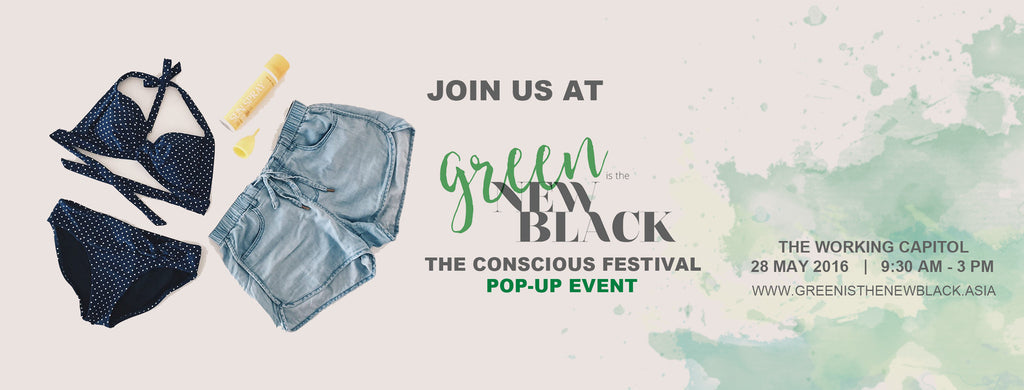 Green is the New Black Pop-Up