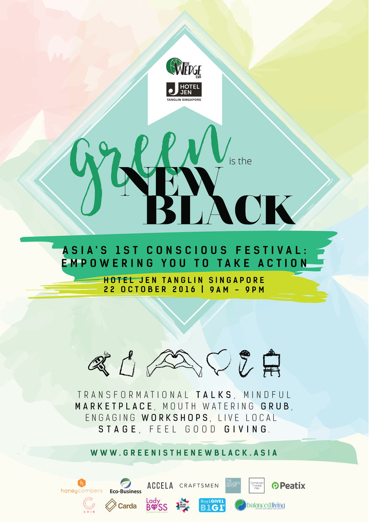 LiveLoveLuna x Green Is The New Black 2016 Event, Hotel Jen Tanglin Singapore