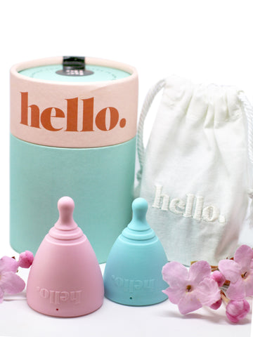 Hello Cup Menstrual Cup | LiveLoveLuna Singapore