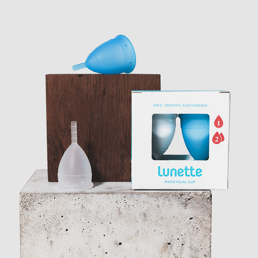 Lunette Menstrual Cup Duo Pack