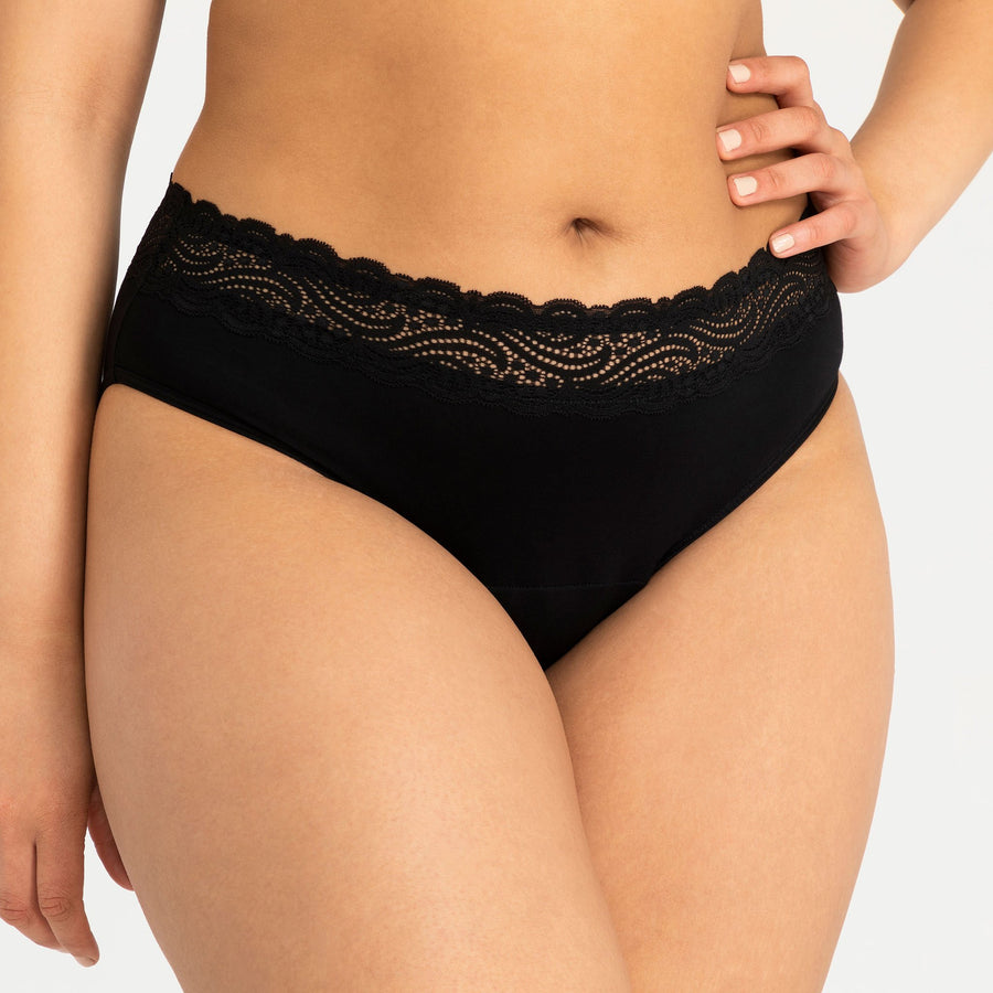 Modibodi Period Panties Sensual Hi-Waist Bikini - Heavy Absorbency