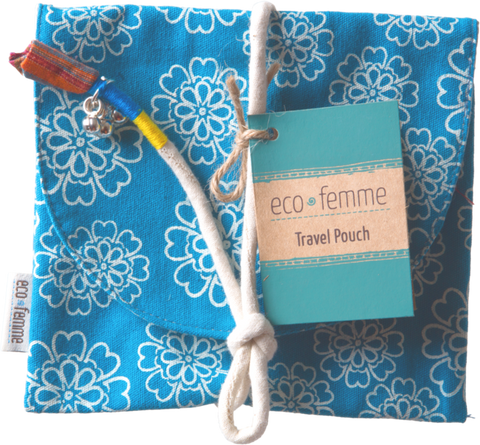 Reusable Pad Carry Pouch | Eco Femme | LiveLoveLuna