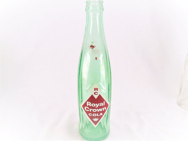 "1961 Royal Crown ""RC"" Cola ACL Bottle"