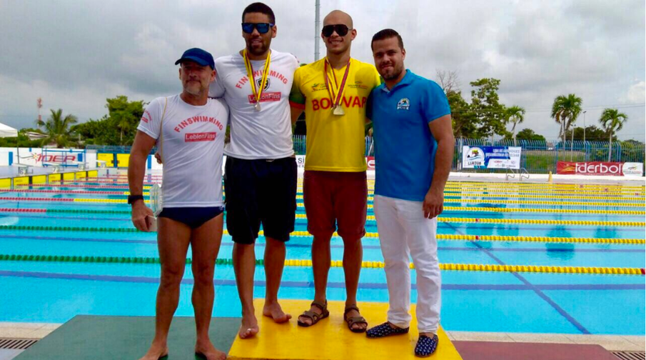 LeblonFins'  bodysurfer qualifies Brazil for the Finswimming World Championship