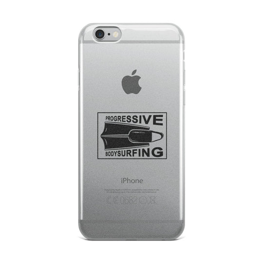 Progressive Bodysurfing iPhone Case