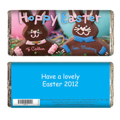 Personalised Easter chocolate bar