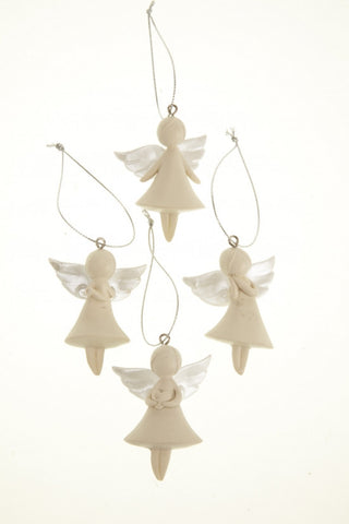 Angel Hanging Decoration set of 4. By Heaven Sends