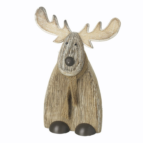 Wooden Reindeer Ornament