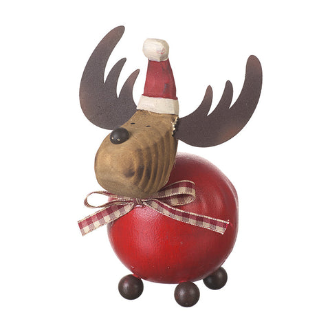Fat Reindeer Ornament