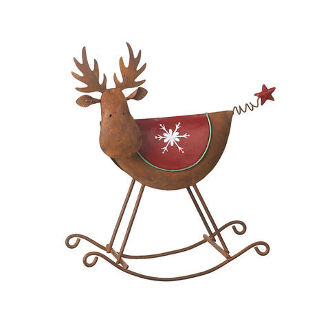 Rocking Reindeer / Moose Ornament