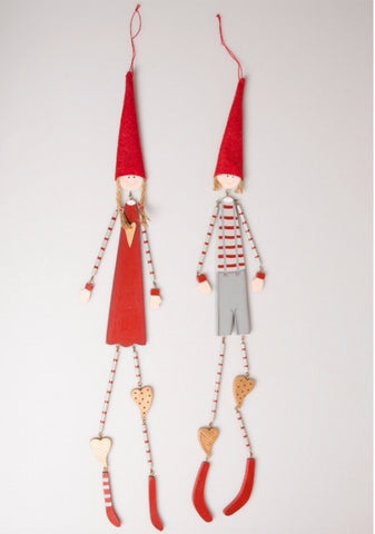 Nordic Christmas Kids, Hanging Decoration